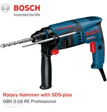 Bosch GBH 2-18 RE Professional Dust Extraction Hammer with SDS-plus (550W)