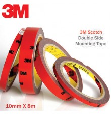 3M Scotch 5665G Double Side Mounting Tape -  10MM x 8M