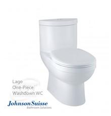 Johnson Suisse Lago Washdown One-piece WC