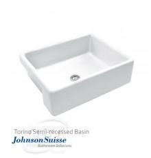 Johnson Suisse Torino Semi-recessed Basin