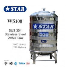 Star Stainless Steel Water Tank WS100 1000L