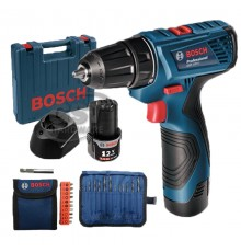 GSR120-LI BOSCH CORDLESS DRILL WITH ACCESSORIES
