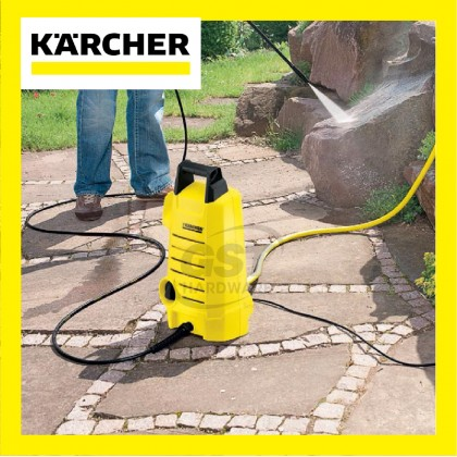 Karcher High Pressure Water Jet Cleaner K2.050 | Water Jet Pressure | Water Jet Pump High Pressure | Pressure Washer | Power Washer (100 Bar)