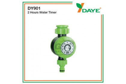 Daye DY901 Garden Analog Water Timer (2 hours) | Watering Irrigation Timer | Plant Mechanical Irrigation Controller
