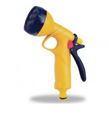 DY2072D DAYE 6-PATTERN SPRAY GUN YELLOW/BLUE/RED