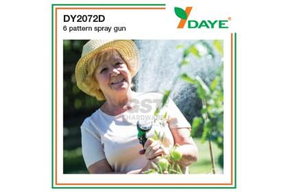 Daye DY2072D 6 Spray Way Water Spray Gun   Sprinkler