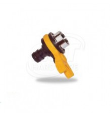 DY8039 DAYE INDOOR TAP CONNECTOR YELLOW/BLUE