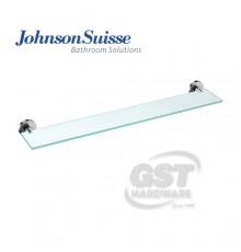JOHNSON SUISSE TRENDY GLASS SHELF,60CM
