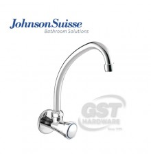 JOHNSON SUISSE RAVENNA WALL-MOUNTED SINK TAP WITH SWIVEL