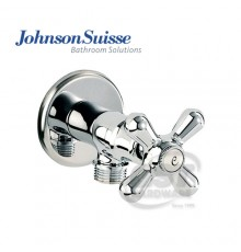 JOHNSON SUISSE TOSCANA 1/2 ANGLE VALVE WITH FLAGE