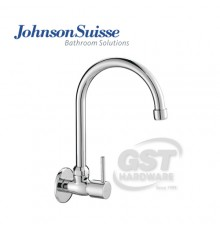 JOHNSON SUISSE TREVI WALL-MOUNTED SINK TAP WITH SWIVEL