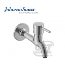 "JOHNSON SUISSE TREVI 1/2"" LONG BIB TAP WITH FLANGE"