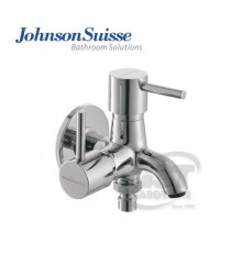 "JOHNSON SUISSE TREVI 1/2"" 2 WAY BIB TAP WITH SCREW COLLAR"
