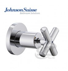"JOHNSON SUISSE ASTI 1"" CROSS HANDLE STOP VALVE WITH FLANGE"