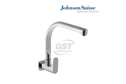 Johnson Suisse Ferla Wall-Mounted Sink Tap (Curve)   Water Tap   Kitchen Faucet   Kitchen Tap Faucet   Sink Faucet