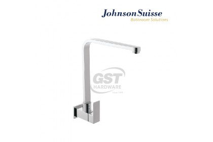*Stock Cleaeance* Johnson Suisse Tirano Single Lever 1/2 Wall-Mounted Sink Tap With Swivel Spout&Flange (While Stocks Last) | Water Tap | Kitchen Faucet | Kitchen Tap Faucet | Sink Faucet