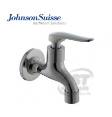 """JOHNSON SUISSE FERMO 1/2"""" BIB TAP WITH WALL FLANGE"""