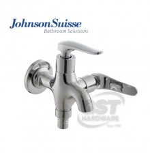 "JOHNSON SUISSE FERMO  1/2"" 2 WAY BIB TAP WITH SWIVEL SPOUT"