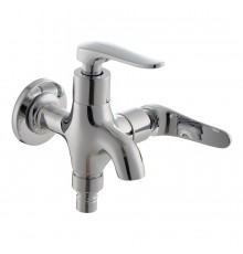 ".FERMO JOHNSON SUISSE 1/2"" 2 WAY BIB TAP WITH SWIVEL SPOUT"