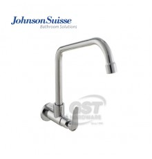 """JOHNSON SUISSE FERMO 1/2""""WALL-MOUNTED SINK TAP WITH SWIVEL"""