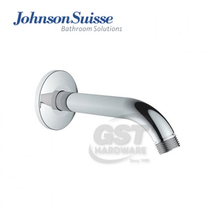 JOHNSON SUISSE BRASS SHOWER ARM AND FRANGE ,LENGTH:200MM