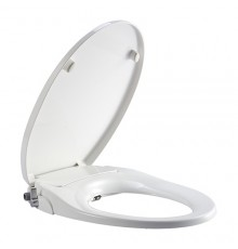 WBTS800110WW JOHNSON SUISSE MANUAL BIDET SEAT,ROUND