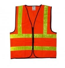 PW50-3004 HS729 RED(H/D) SAFETY VEST(120GRM)