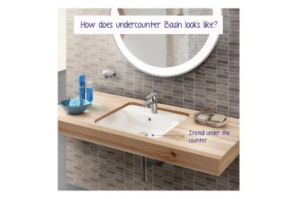 Johnson Suisse York Undercounter Basin | Ceramic Basin | Johnson Suisse Basin | Toilet Basin | Hand Wash Basin