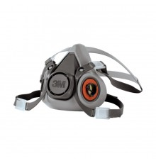 .3M 6200 HALF MASK RESPIRATORS ONLY WITHOUT FILTER