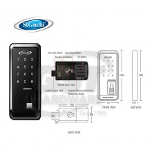 SGDL-TF10 ST GUCHI SMART DIGITAL DOOR LOCK