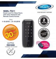 SGDL-TG11 ST GUCHI DDL GLASS DIGITAL DOOR LOCK VERSION WITH REMOTE CONTROL