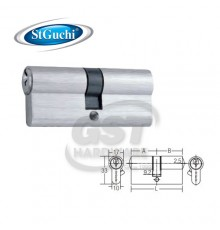 ST GUCHI ZZCINSGEP-D70 SN  EURO PROFILE DOUBLE KEY CYLINDER ONLY