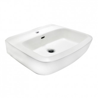 JOHNSON SUISSE LUCCA 550 WALL HUNG BASIN SET