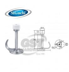 SGDS-024/SS ST GUCHI HAT & COAT HOOK DOOR STOPPER