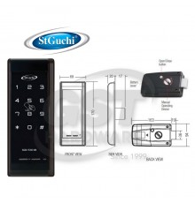 SGDL-TC60MB ST GUCHI DIGITAL RIM LOCK VERSION WITH MIRAFE CARD SOLUTION