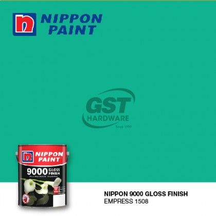 *STOCK CLEARANCE* 1L NIPPON PAINT 9000 GLOSS FINISH FOR WOOD AND METAL (READY MIX)