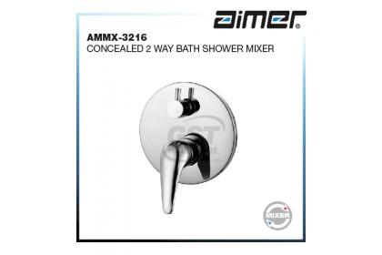 AIMER AMMX-3216 2 WAY CONCEALED BATH SHOWER MIXER