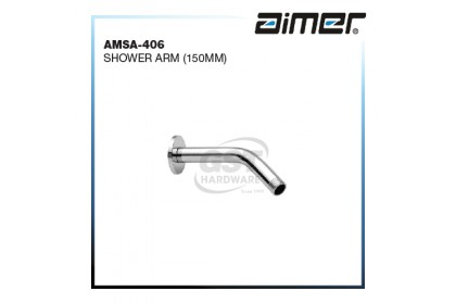 AIMER AMSA-406 STAINLESS STEEL SHOWER ARM
