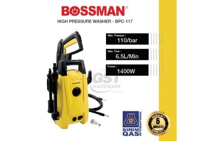 Bossman BPC-117 High Pressure Cleaner Waterjet Sprayer - 1400W | Water Jet Pump High Pressure | Waterjet High Pressure | Pressure Sprayer