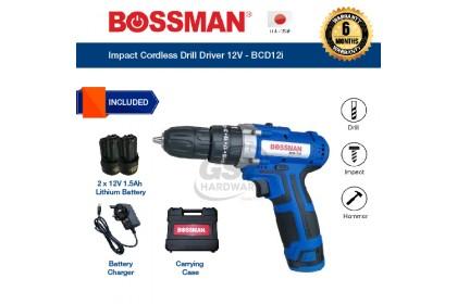 Bossman 12V Cordless Impact Drill Driver - BCD12i   Bossman Cordless Drill   Impact Driver   Impact Drill