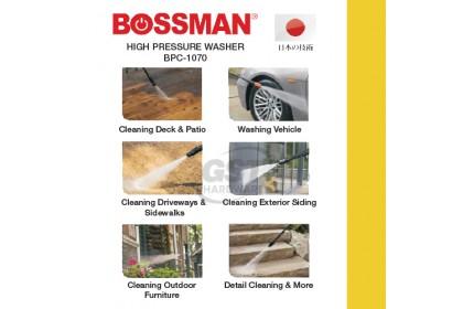 Bossman BPC-1070 High Pressure Cleaner Waterjet Sprayer 1700W | Bossman High Pressure Waterjet | High Pressure Spryer